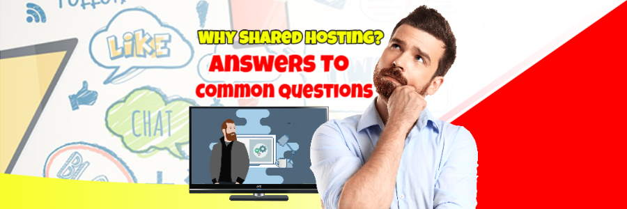 Image introduces an article which explains why so many use shared hosting.