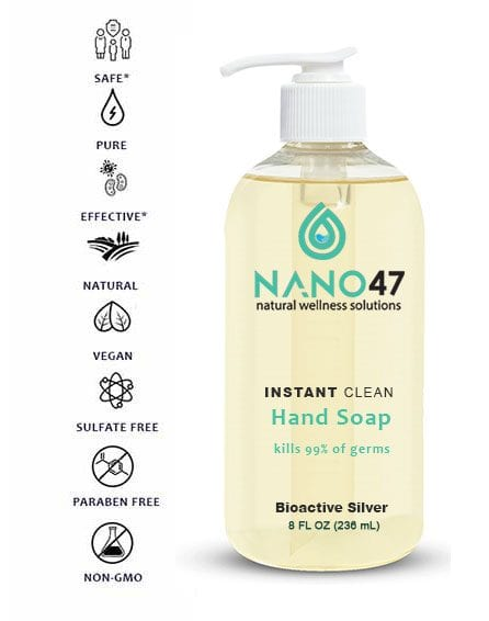 colloidal silver hand soap