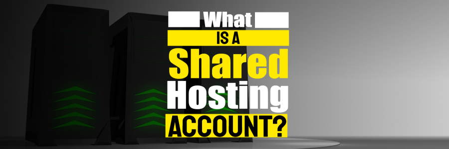 What is a Shared Hosting Account? Entry Level Website Hosting 101