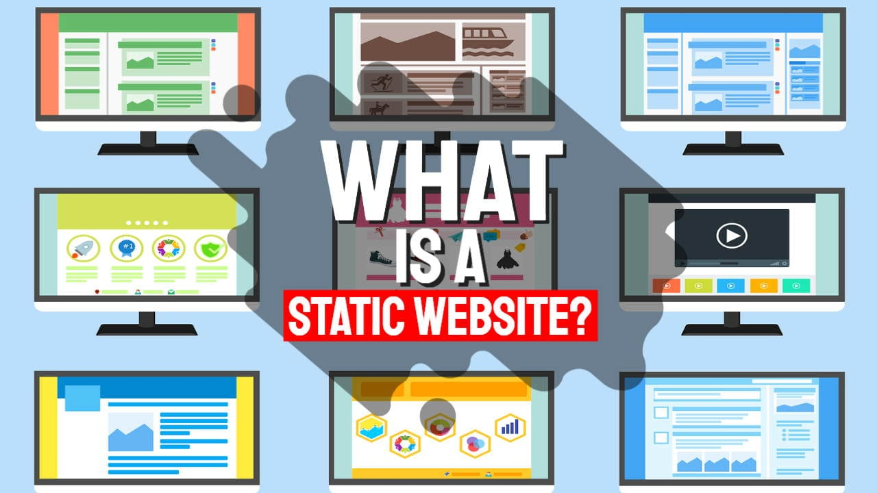 What is a Static Website? and How to Make a Static Web Page With an Example