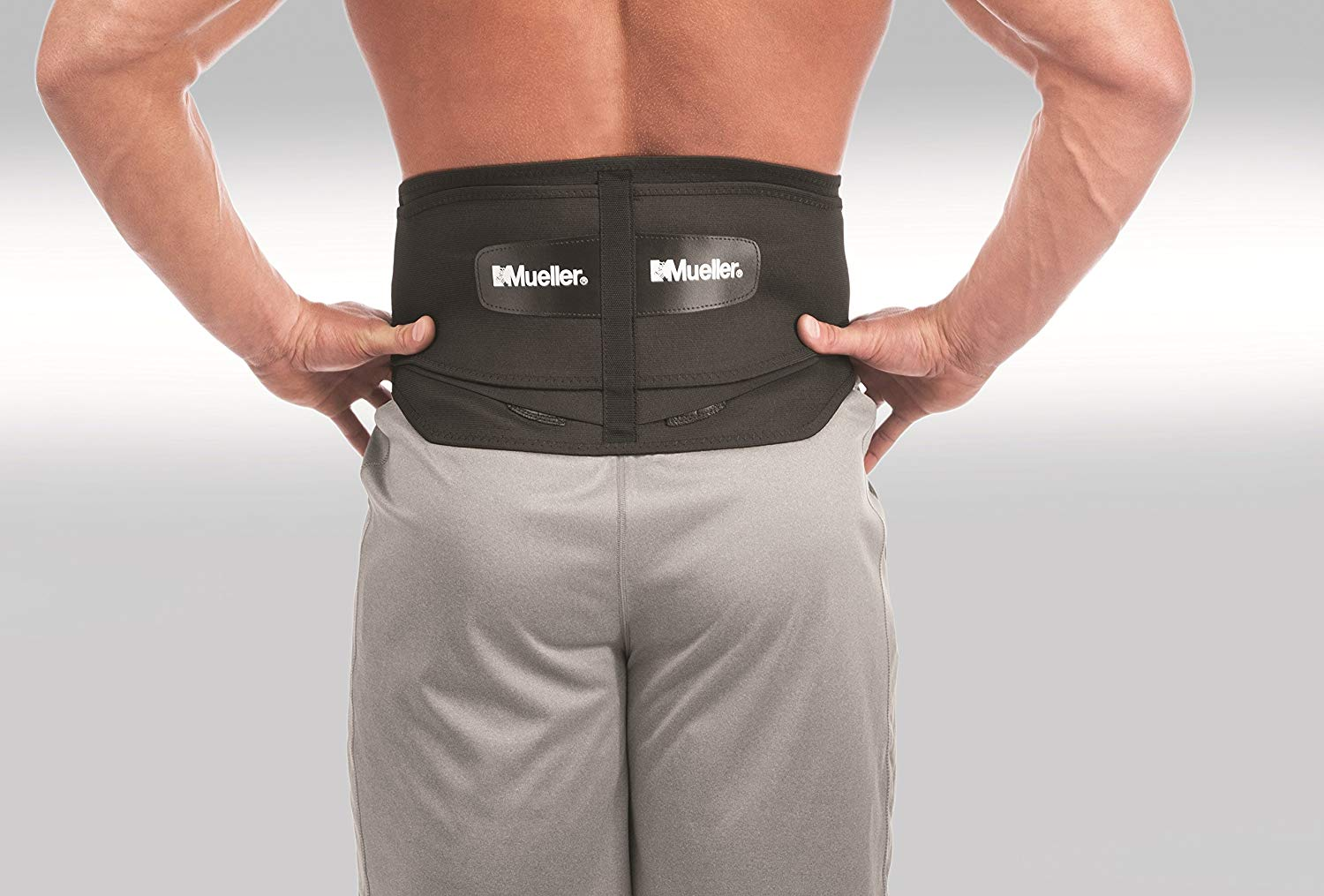 The Mueller copper belt for back pain