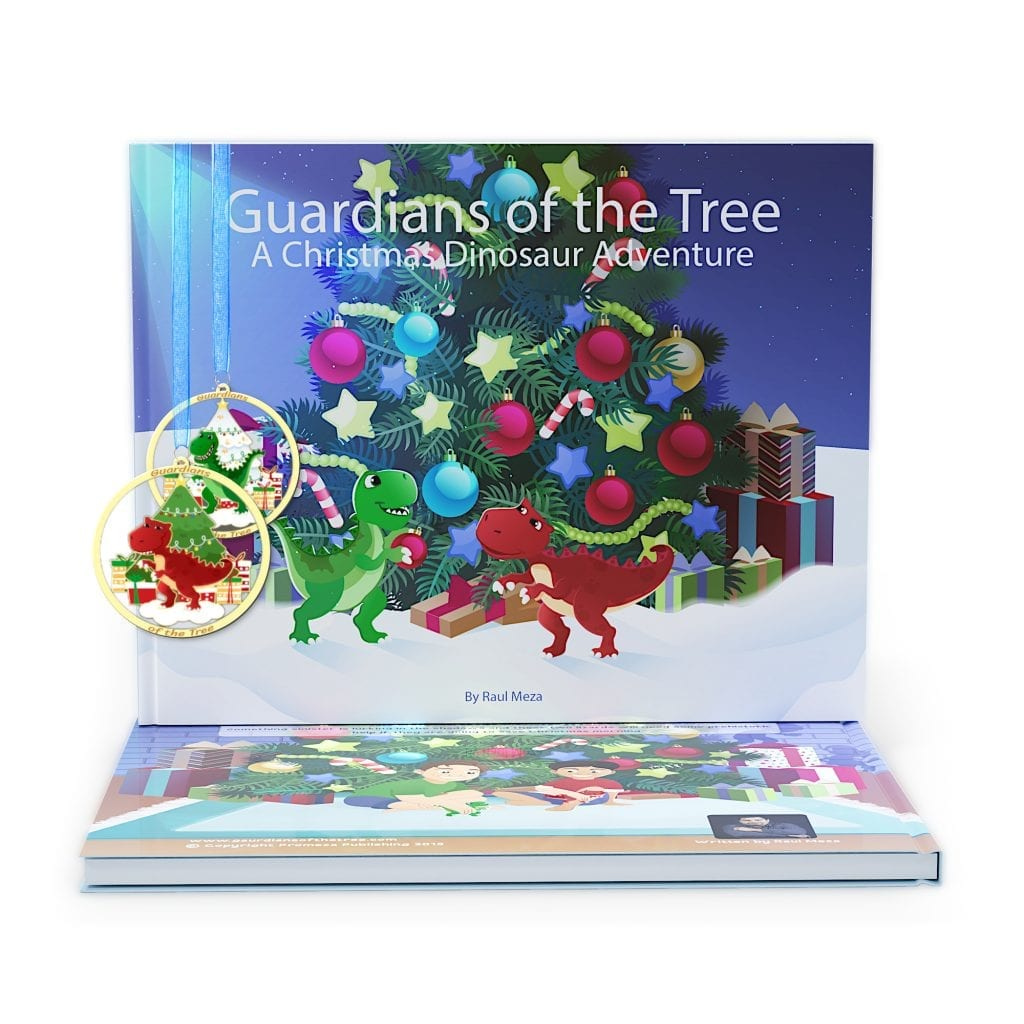 Christmas Dinosaur book