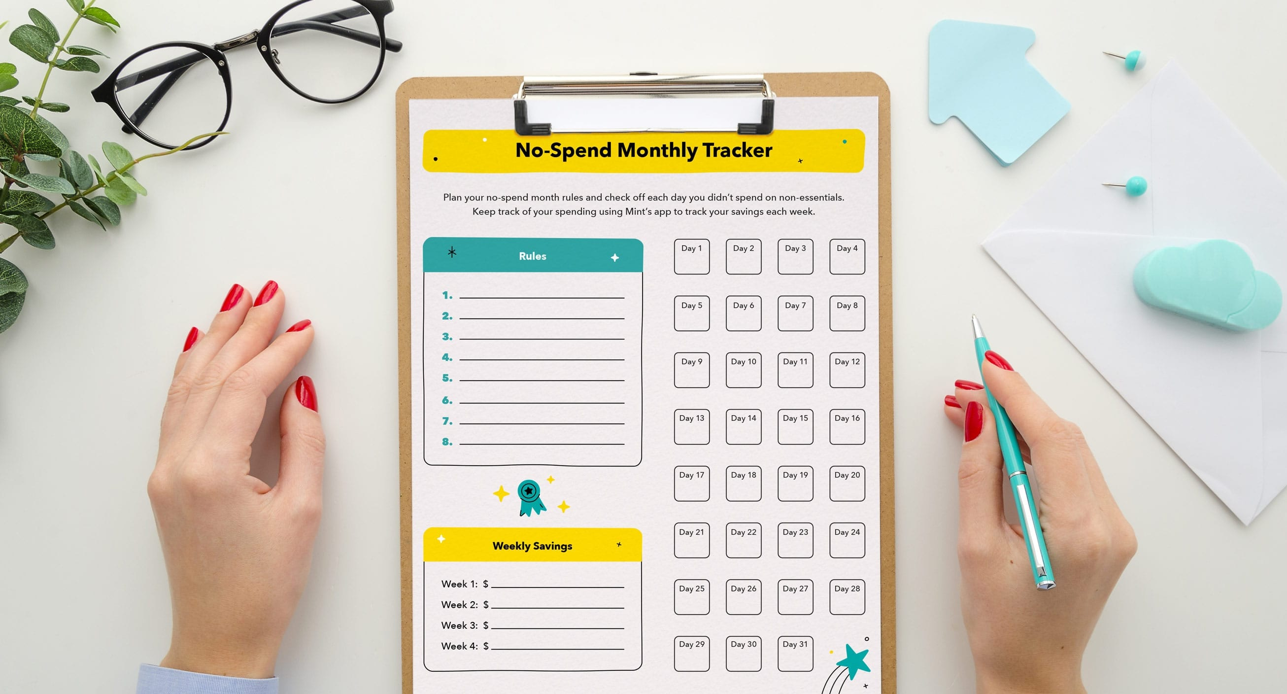 no-spend-monthly-tracker