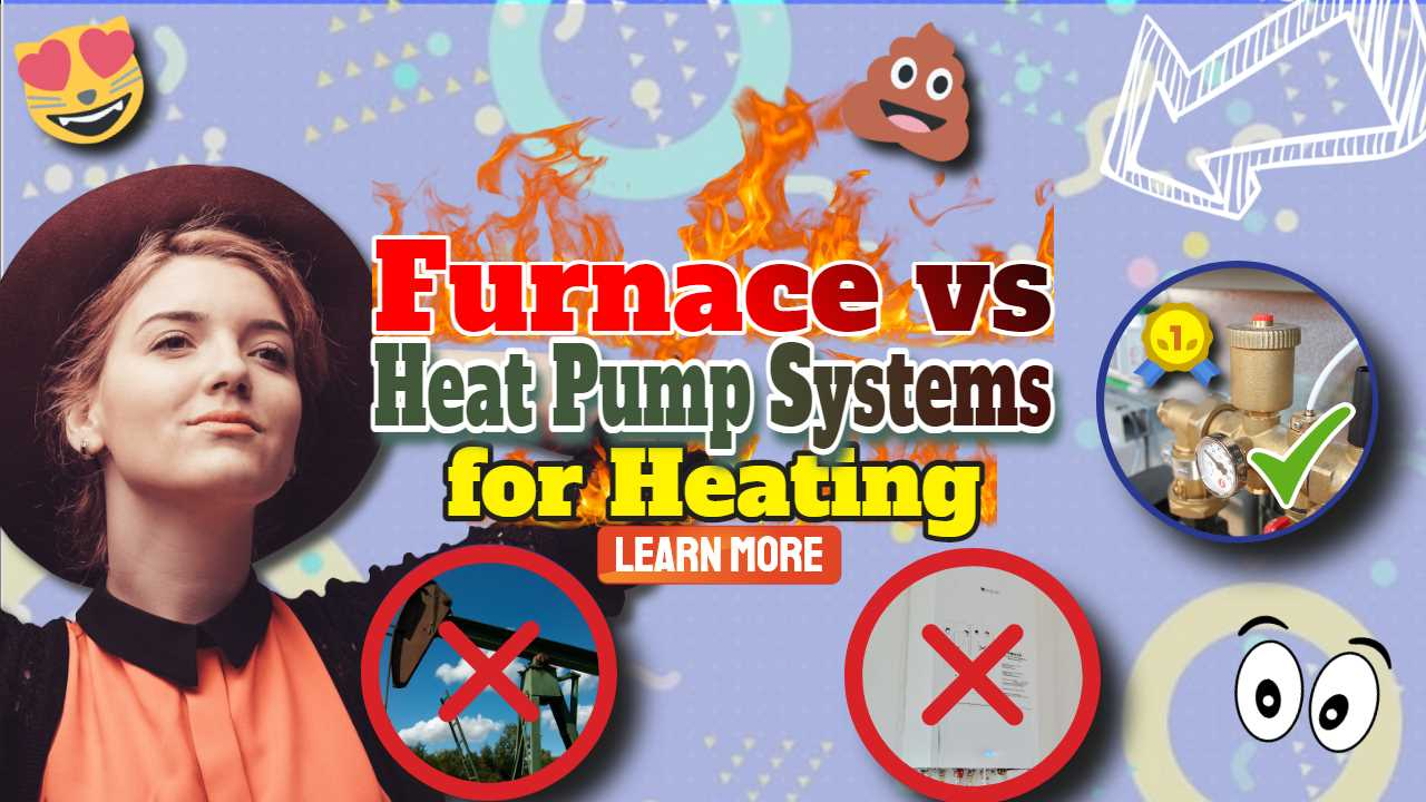 "Image with text: ""Furnace vs heat pump""."