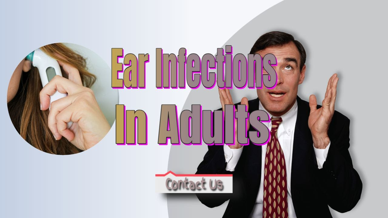 middle ear infection in adults