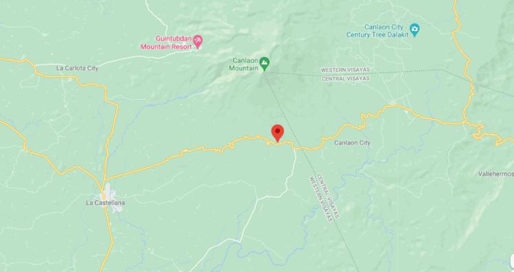 Map La Castellana Philippines
